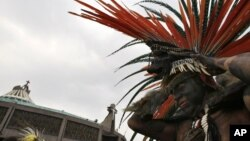 Penacho Azteca.