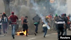 Capriles Supporters Protest in Caracas