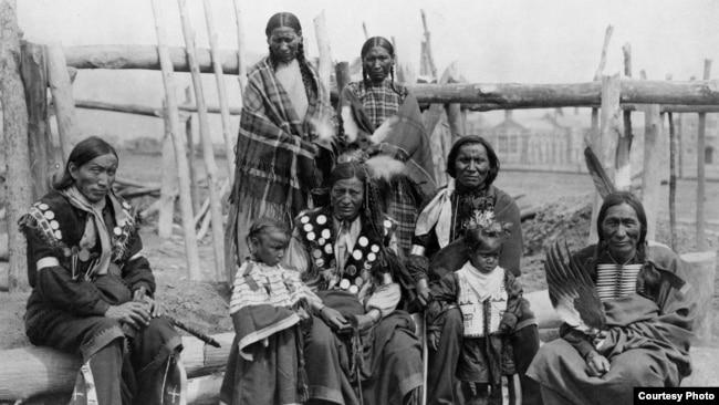 Familia Lakota, 1904.