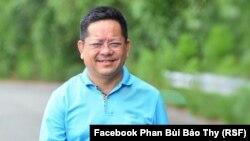 """Nhà báo Phan Bùi Bảo Thy bị bắt giữ với cáo buộc """"lợi dụng quyền tự do dân chủ"""" vì những đăng tải chống tham nhũng được cho là """"nói xấu lãnh đạo."""""""