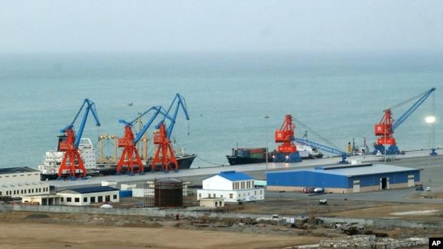 Глубоководный морской порт Гвадар, Пакистан