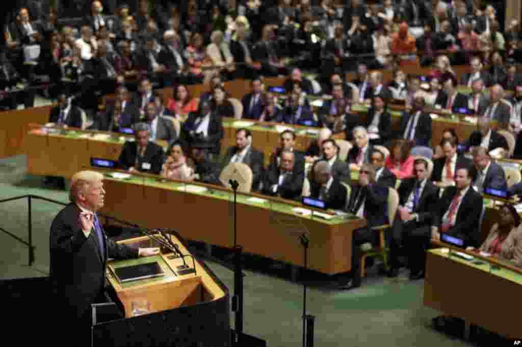 سخنرانی های رهبران جهان از روز سه شنبه در نیویورک در مجمع عمومی سازمان ملل شروع می شود. پیش بینی می شود پرزیدنت ترامپ در بخشی از سخنانش به ایران اشاره کند.