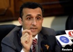 """Amrullah Saleh, mantan Wapres Afghanistan telah mendeklarasikan sebagai """"Presiden sementara"""" (foto: dok)."""