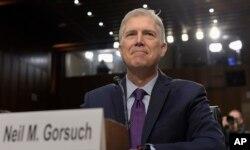 Neil Gorsuch, nuevo juez de la Corte Suprema de Justicia que reemplaza al fallecido juez conservador Antonin Scalia.