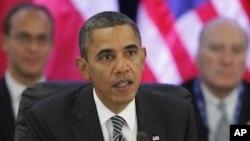 美国总统奥巴马11月12 在夏威夷与亚太地区领导人会面时讲话