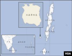 含北森蒂纳岛