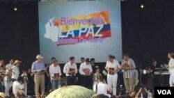 En Cartagena estarán 15 presidentes, 27 cancilleres y tres ex presidentes, así como el Secretario de las Naciones Unidas, el Presidente del Consejo de Seguridad y los directivos de los principales organismos multilaterales del mundo. [Foto: Celia Mendoza, VOA].