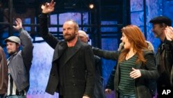 "Sting se despide en el último acto de la obra de Broadway ""The Last Ship""."