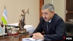 Uzbekistan's Ombudsman, Ulugbek Muhammadiev, in his office, Tashkent, Uzbekistan, September 3, 2018.