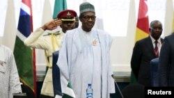 무함마두 부하리 나이지리아 대통령. (자료사진)