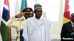 Muhammadu Buhari à Abuja, au Nigeria, le 16 décembre 2015. (Reuters/Afolabi Sotunde)