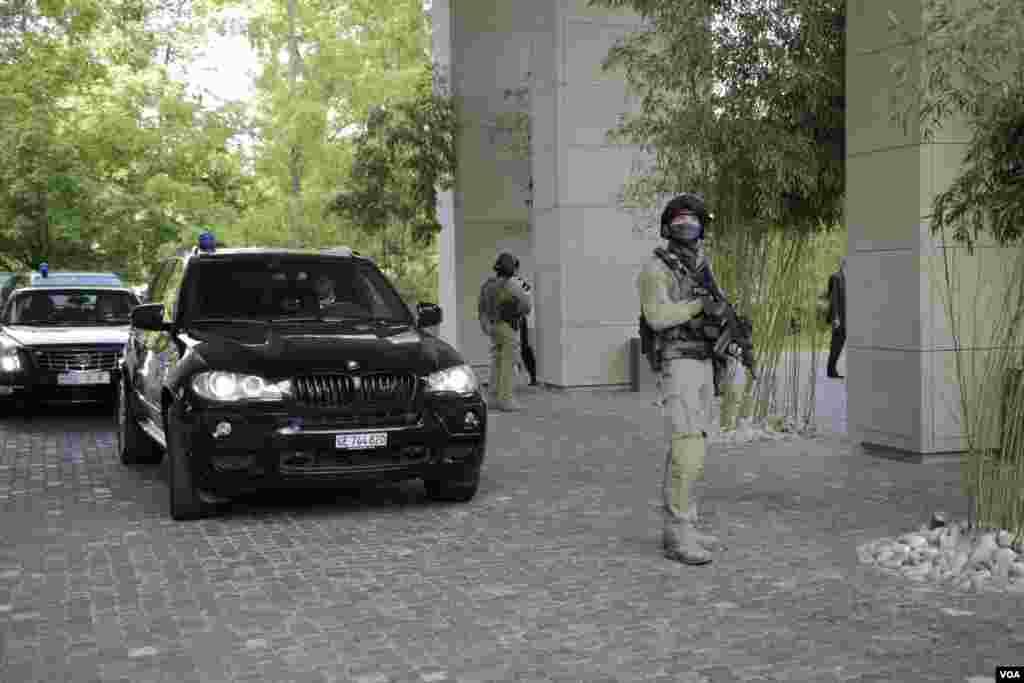 محافظان هتل محل مذاکرات ژنو