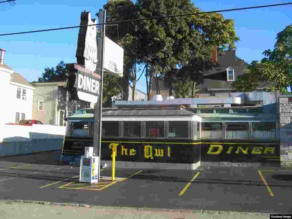 رستوران اُول در شهر لوول، ایالت ماساچوست