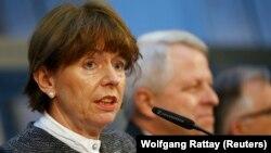 La maire de Cologne, Henriette Reker, le 1er février 2016.