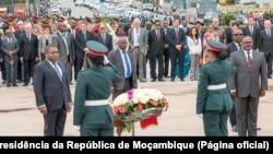 Filipe Nyusi, cerimónia de 30 anos da tragédia de Mbuzini