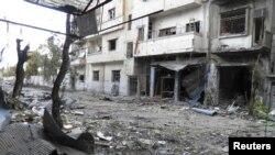 Četvrt Al-Halidija u Homsu (arhivski snimak)