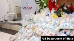Ajuda alimentar para o Haiti