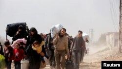 Milhares de pessoas são afectadas pelo conflitoem Ghouta