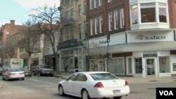 Jedna od ulica Fredericka