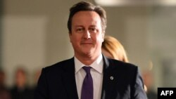 British Prime Minister David Cameron, Nov. 28, 2013.