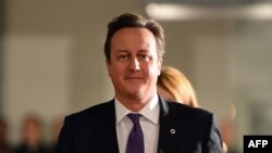 FILE - British Prime Minister David Cameron, Nov. 28, 2013.