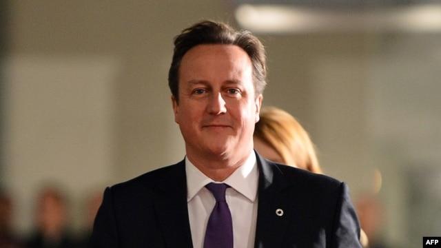 FILE - British Prime Minister David Cameron, Nov. 28, 2013.