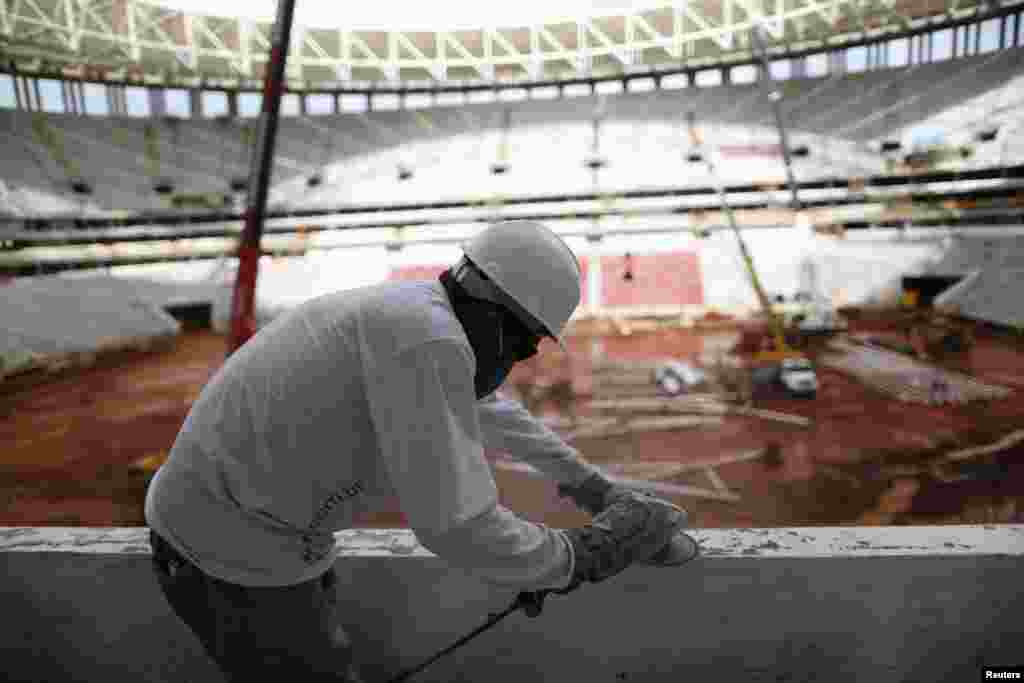 برازیل میں ورلڈ کپ فٹبال 2014ء کی تیاریاں