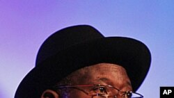 Nigeria's President Goodluck Jonathan, (File).