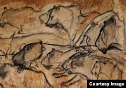 FILE - Located in a limestone plateau of the Ardeche River in southern France, the property contains the earliest known and best preserved figurative drawings in the world, dating back 30,000 years. (UNESCO)