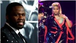 Top Ten Americano: 50 Cent com nova música com Eminem; Nicki Minaj não está aí para as bocas