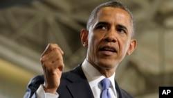 Presiden AS Barack Obama mengungkap usul anggaran belanja tahun 2014, yang gagal memuaskan kedua partai, Rabu (9/4).