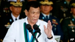 Presiden FilipinaRodrigo Duterte(foto: dok).
