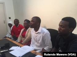 Members of the Citizens' Forum which attacked the Zimbabwe Lawyers for Human Rights.