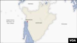 Ramani ya Burundi