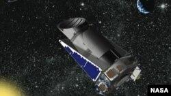 NASA menghentikan penggunaan Teleskop Antariksa Kepler secara penuh setelah diluncurkan pada tahun 2009 (foto: ilustrasi).