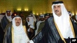 رهبران کویت و قطر