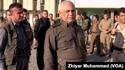 شێخ جهعفهر شێخ مستهفا ئهندامی مهكتهبی سیاسی یهكێتی نیشتمانی كوردستان و بهرپرسی هێزهكانی(٧٠)ی پێشمهرگه