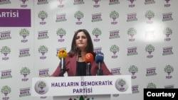 Dilan Taşdemir, parlementera HDPê- Agirî