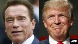 Ông Arnold Schwarzenegger và Tổng thống Trump.