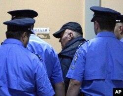 Nakon hapšenja, Ratko Mladić dolazi u sud u Beogradu