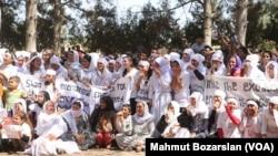 Ezidiler'den Diyarbakır'dan Anma Töreni