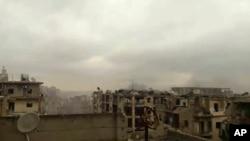 战火中的阿勒颇