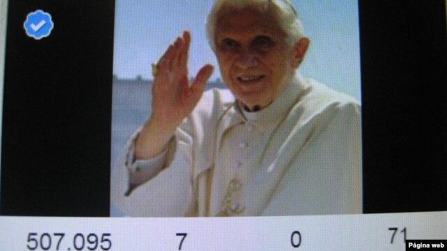 El papa Benedicto XVI tiene ya 85 años, pero tuiteará con los jóvenes a partir del 12 de diciembre.