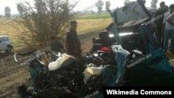 Avtomobil qəzası (Foto kepeztv.az saytınındır)