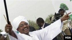 Presiden Sudan, Omar al-Bashir.