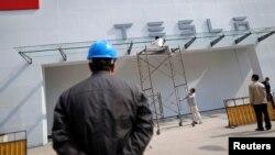 Завод «Тесла» в Шанхае