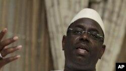 塞内加尔总统候选人、前总理萨尔3月24日在达喀尔