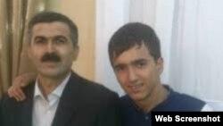 Oqtay Gülalıyev oğlu ilə