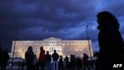 Демонстранти пікетують грецький парламент