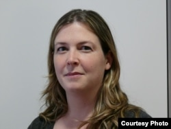 Bà Lucie Morillon, Giám đốc phụ trách lĩnh vực truyền thông mới thuộc tổ chức RSF